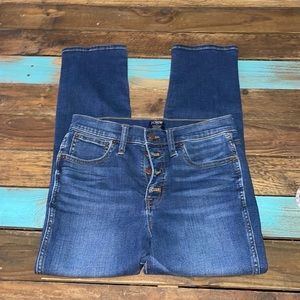 J. Crew Button Fly Jeans